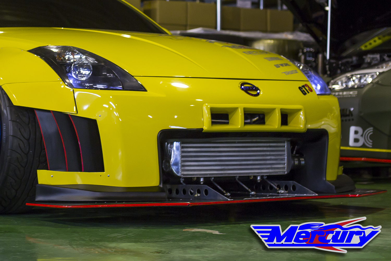 Mercury Z Project 350z/z33 Front Diffuser